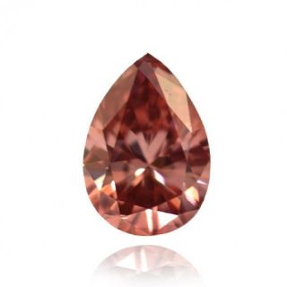 Fancy Deep Pink Argyle Color Pear Natural Loose Diamonds GIA