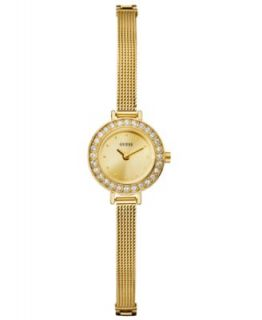 GUESS Watch, Womens Gold Tone Bracelet 23mm U10085L1   All Watches