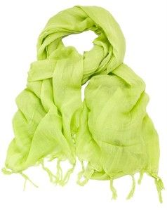 88 New Love Quotes Sprout Linen Fringe Scarf