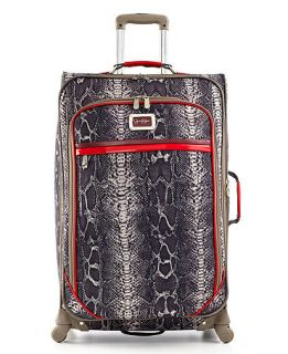 Jessica Simpson Suitcase, 24 Snake Rolling Expandable Spinner Upright
