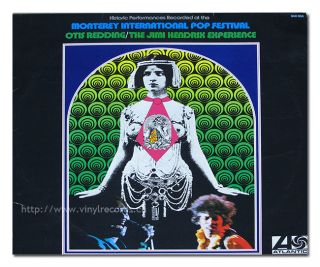 Jimi Hendrix Otis Redding Monterey International Pop Festival 12 LP
