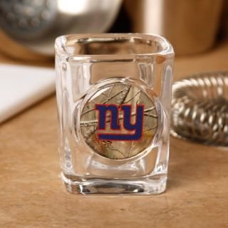 New York Giants 2 oz Realtree Camo Shot Glass