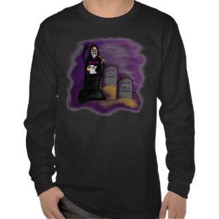 Bush Grim Reaper Bail Out T Shirt
