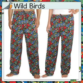 our all over print wild birds scrubs pajama pants are perfect for