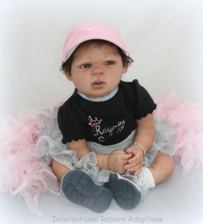 Trinitee Reborn Baby Doll Ethnic by Lorna Miller Sands Big Baby