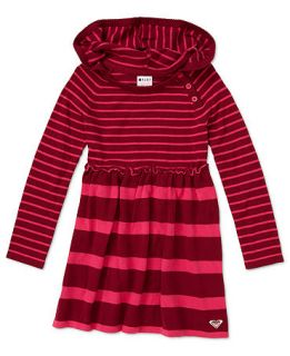Roxy Kids Dress, Little Girls Hooded Stripe Sweater Dress   Kids