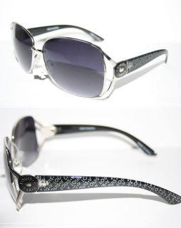 Louis V Eyewear Paris Sunglasses Large Boho Shades Metal Black Silver