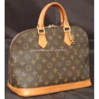 Authentic Louis Vuitton Alma w Lock Key VI0050