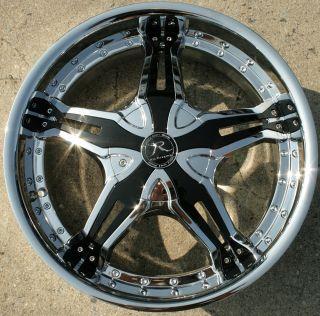 Karizzma Lucian KR09 20 Chrome Rims Wheels Acura TL 04 08 20 x 8 5 5H