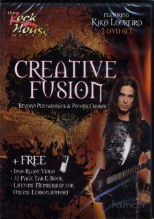 of Sheet Music   Kiko Loureiro Creative Fusion Guitar Tuition DVD Set