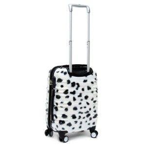 3PC 8WD Rolling Luggage Set 360° TSA Spinner Wheeled Suitcase   White