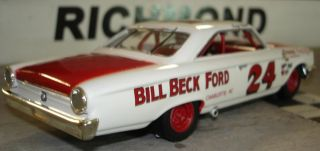 24 Tiny Lund Bill Beck Ford 1963 Ford Galaxie Custom Built 1 32 Scale