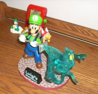 Super Mario Sunshine Yoshi Luigis Mansion Figure Lot Joyride Studios