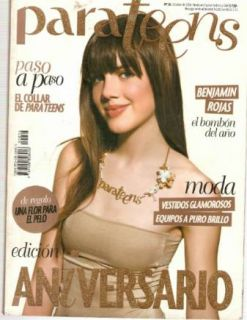 Para Teens Models Magazine 36 2006 Luisana Lopilato