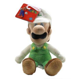 Super Mario Bros Fire Luigi 9 Plush New