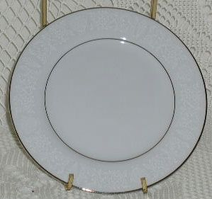 Crown Victoria China Lovelace Bread Plate