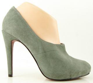 Luxury Rebel Lisette Stone Suede Womens Designer Shoes Platform Pumps