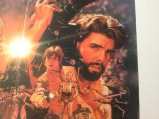 Star Wars Insider LucasArts Collage Poster