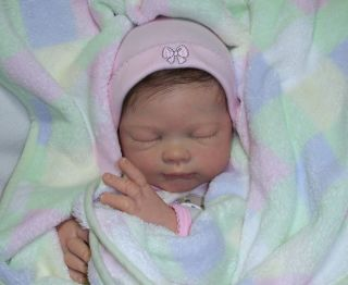 Reborn Baby Girl Lucy Tina Kewy Limited Edition Doll