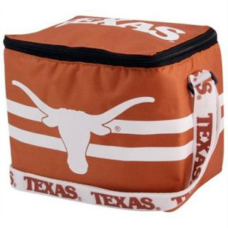 Texas Longhorns 6 Pack Insulated Lunch Box Cooler Bag