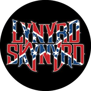 Lynyrd Skynyrd Flag Logo Mini Magnet BM 0138