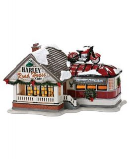 Department 56 Collectible Figurine, Snow Village Harley Road House