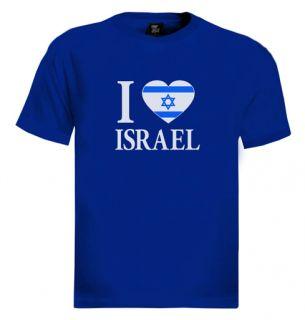 Love Israel T Shirt Cool Nice Jewish Hebrew Jew Tee Jerusalem Zion