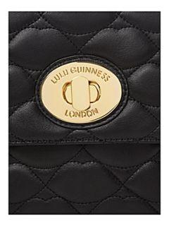 Lulu Guinness Large eyelet annabelle shoulder bag