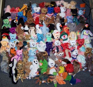 99 Ty Beanie Babies Collection Big Beanies Lot Sale CLOSEOUT