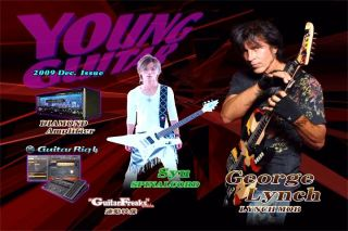 Young Guitar Magazine DVD 2009 12 George Lynch SYU JPN