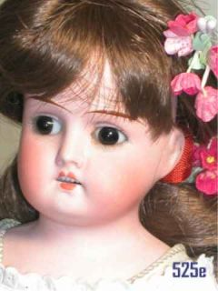 Antique German Bisque Mabel Doll Kid Jointed Body 13