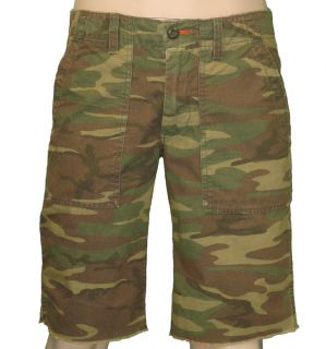 Lucky Brand Jeans Camouflage Slim Fit Cargo Shorts