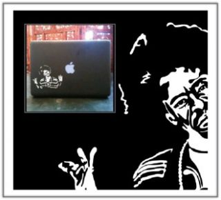Mac Dre Laptop Car Truck Vinyl Decal Skin Sticker