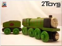 THOMAS THE TANK ENGINE & Friends LEARNING CURVE Wooden Trains HUGE