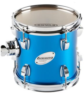 Ludwig Accent Custom Tom Drum Blue 11x13 LAT113RC19