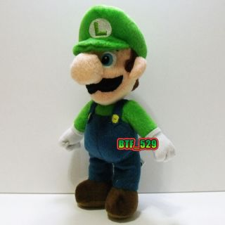 Plush 9 Stand Luigi E New Super Mario Brothers Plush Doll Figure