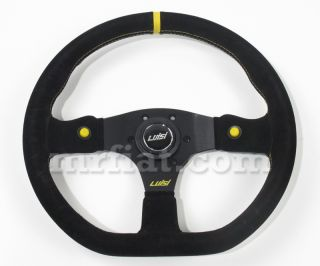 Stealth Corsa HP Black Suede Luisi Steering Wheel New
