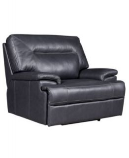 Leather Power Recliner Chair, 43W x 38D x 39H   furniture