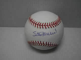 Stan Musial Signed Autographed Official MLB Baseball