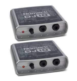 Numark DJ IO USB DJ Audio Interface DJ Sound Cards 676762184014