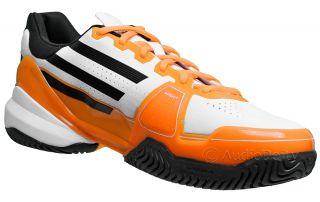 New $120 Adidas Adizero Feather Mens Tennis Shoes, Size 13, White