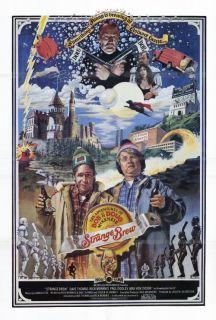 Strange Brew Movie Poster 27x40 Rick Moranis Dave Thomas Max Von Sydow