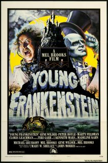 Young Frankenstein 1974 Original U s One Sheet Movie Poster