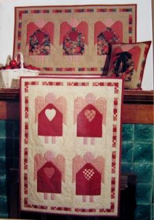 Pattern Wall Quilt Quilting Applique Primitive Christmas Angel Angels