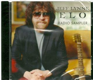 JEFF LYNNE / ELO 5 Song Sampler 2012 PROMO CD Mercy Mercy + Point Of