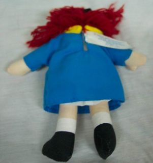 Mini Madeline Girl 5 Plush Stuffed Animal Toy