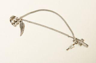 New Cross Wing Ear Cuff Earring Ear Chain Jewelry