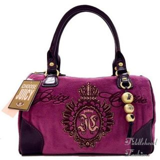 Juicy Couture Madge Bowler Tote Bag Studded Crest Daydreamer Satchel