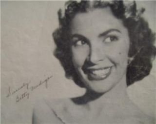 Joey Sheet Music with Printed Autograph of Betty Madigan 1954