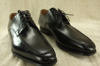 Magnanni Tomo Black Leather Square Toed Lace Up Oxfords Size 15 $250